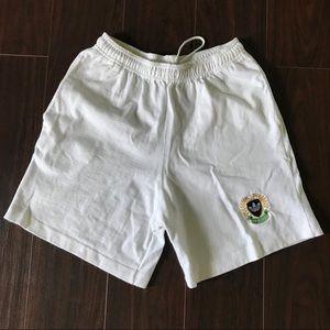 Vintage White Adidas Shorts